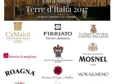 Vini d'autore,Terre d'italia 2017 Lido di Camaiore